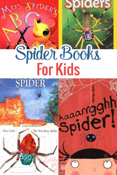 Spider Books for Kids