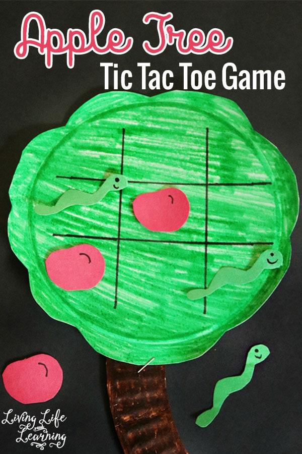 Apple Tree Tic Tac Toe Game