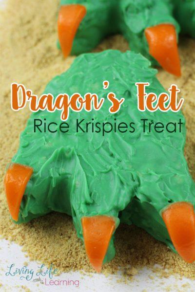 Dragon's Feet Rice Krispies Treat