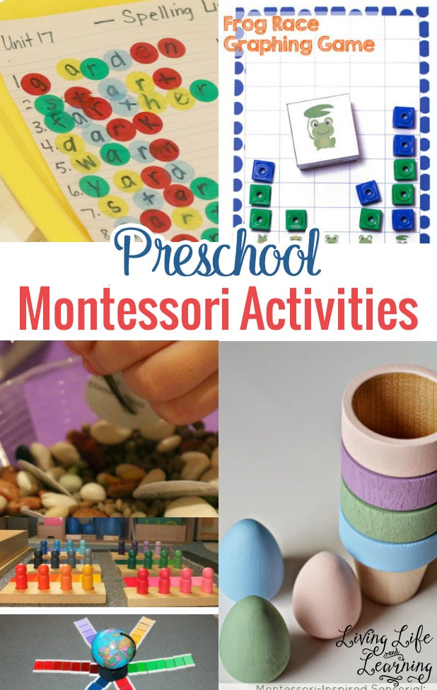 If you have a Preschooler, then you will love this post! You will find an awesome list of Preschool Montessori activities for all subjects. It will give you a good overview on how Montessori works and how to get started.