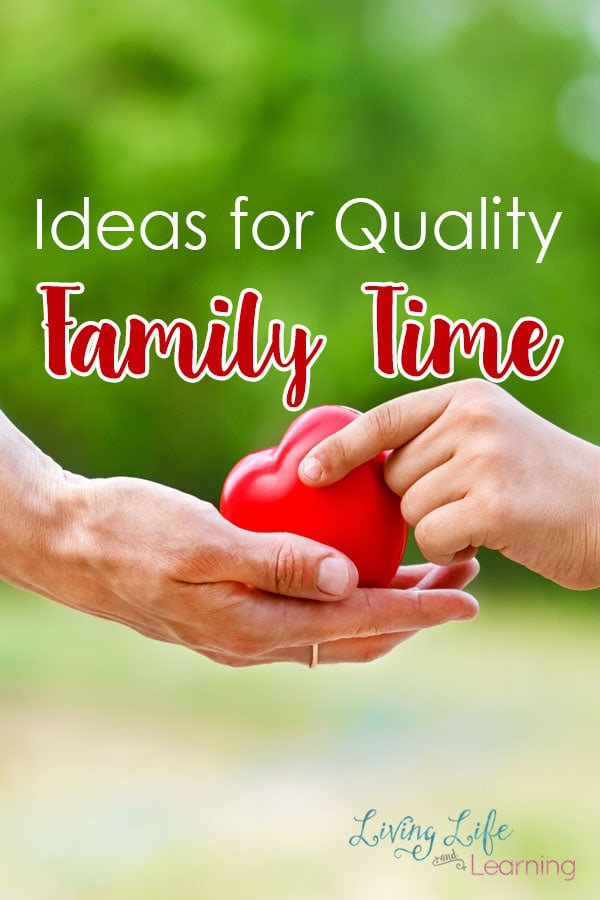 Need Ideas for Quality Family Time? With kids from preschool to teens, it can be hard to find something that everyone will love. But make the effort to carve out time together and your family will be more close knit.