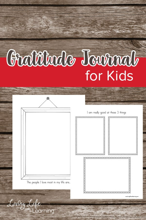 Does your child appreciate what they already have in their life? Try this gratitude journal for kids