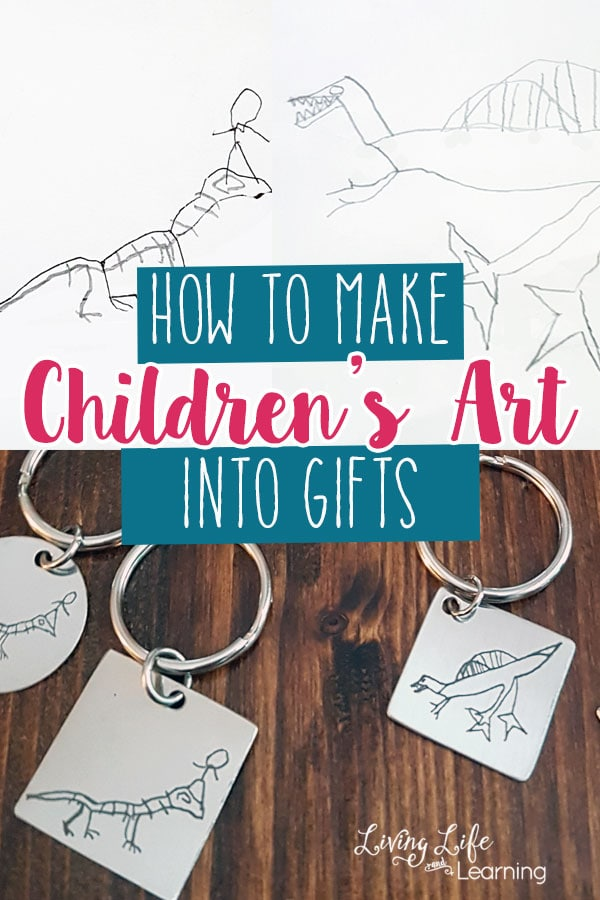 How to Make Children's Art into Gifts