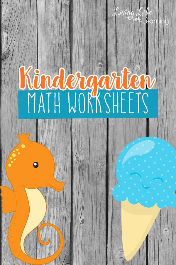 Need a fun kindergarten math worksheets? If your child needs practice with number sense, addition, subtraction and skip counting.