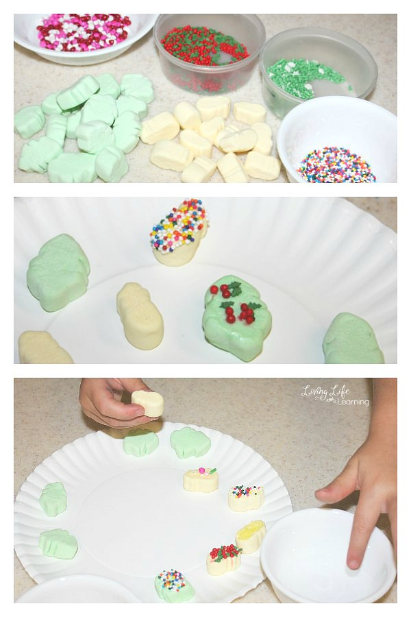 We have a lot of fun with homemade Christmas crafts, but you know what is even better than kids Christmas crafts projects? Easy and edible kids Christmas crafts!