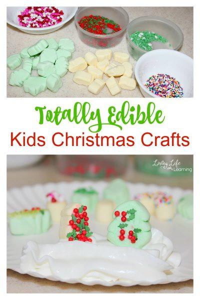 Edible Kids Christmas Crafts