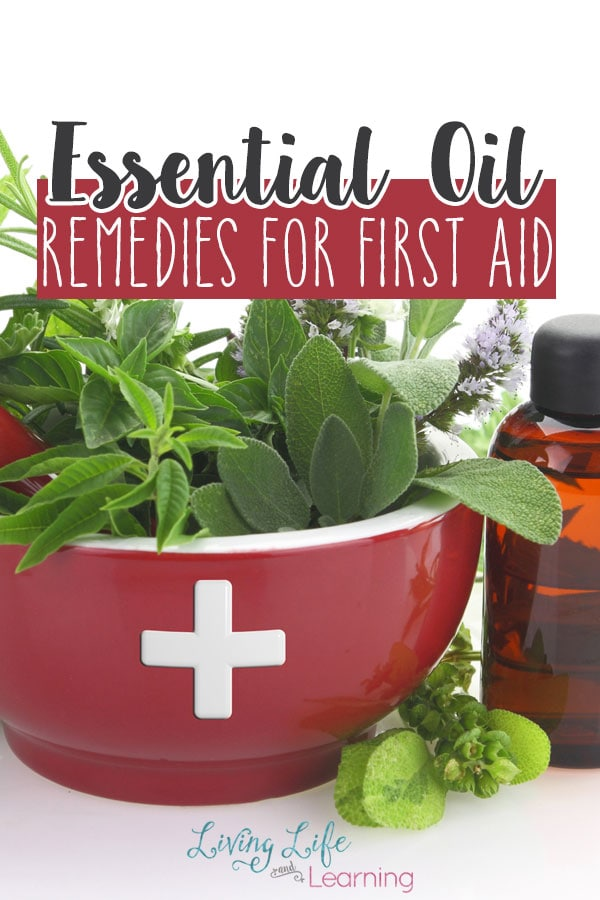 Essential Oil remedies for first aid - must have essential oils for your medicine cabinet.