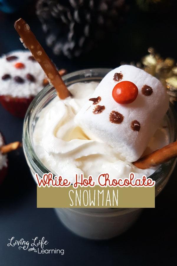 Snowman White Hot Chocolate