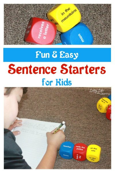 Fun and Easy Sentence Starters