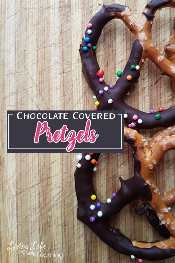 Easy Chocolate Covered Pretzel Treat