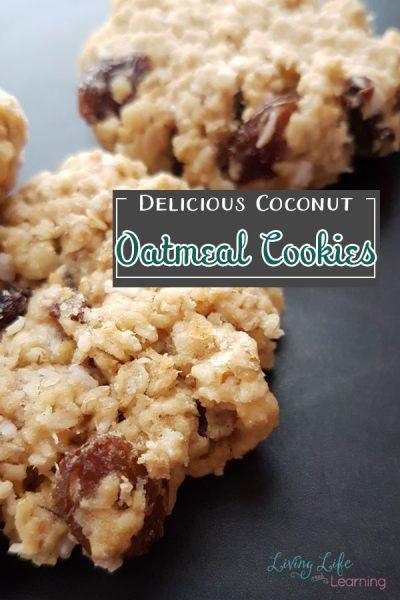 Delicious Coconut Oatmeal Cookies Recipe