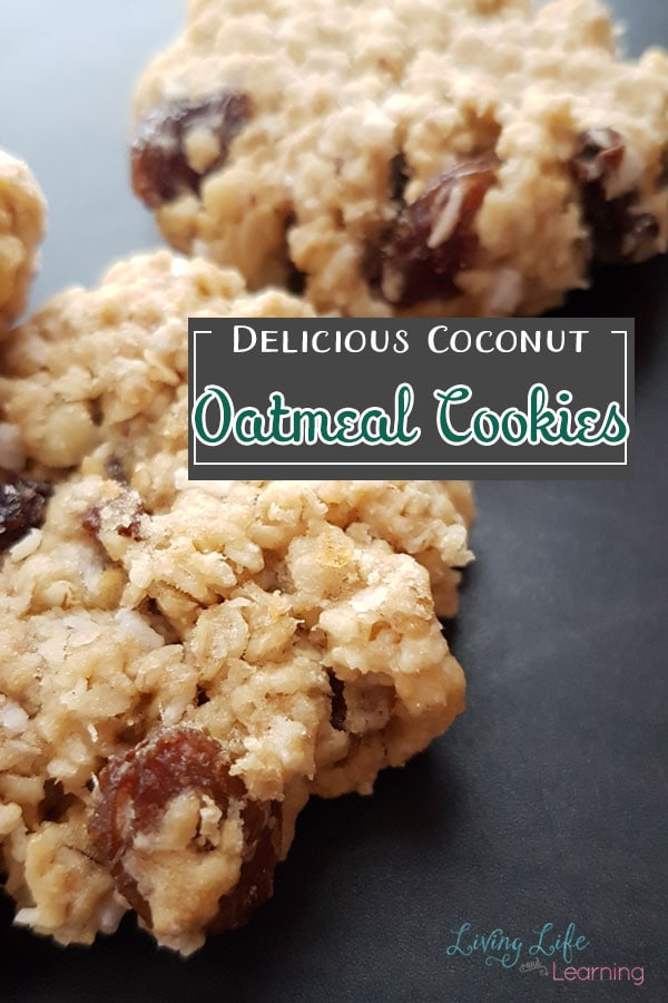 Delicious Coconut Oatmeal Cookies Recipe