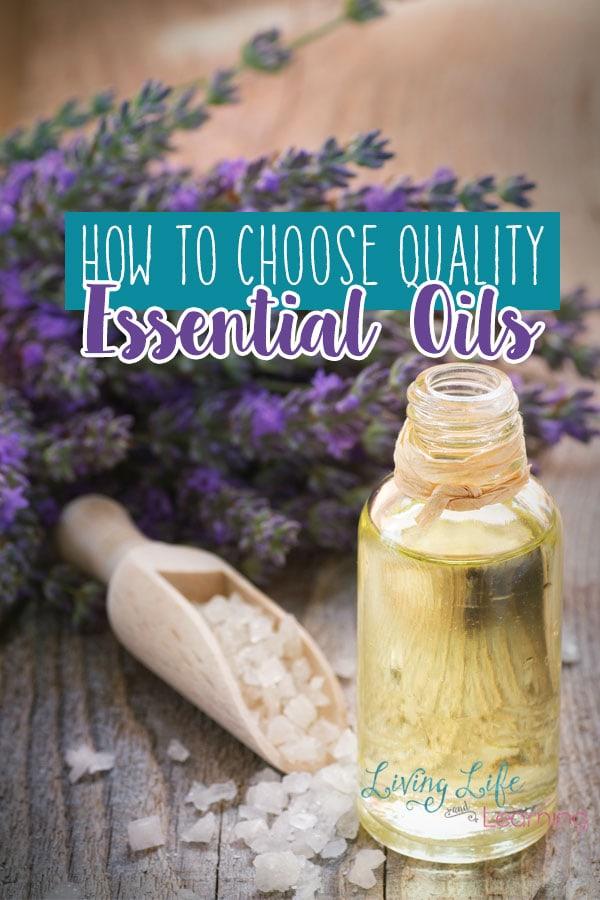 How to Choose Quality Essential Oils