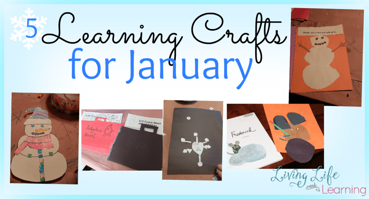 Learning crafts for winter