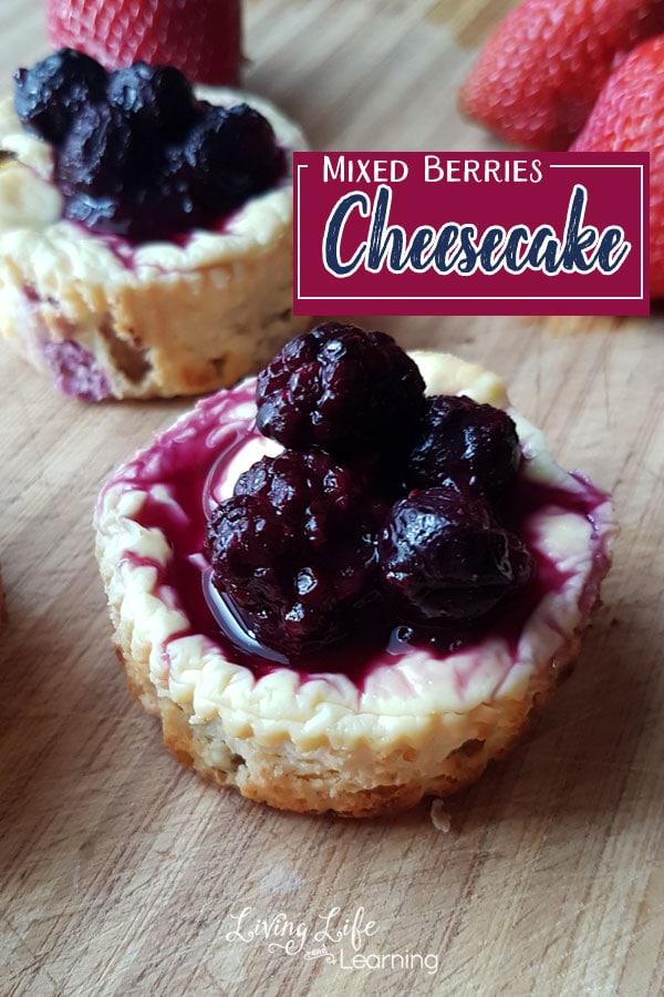 Mixed Berries Cheesecake Recipe