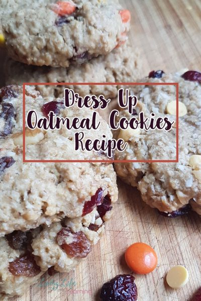 Dress Up Your Favorite Oatmeal Cookies Recipe