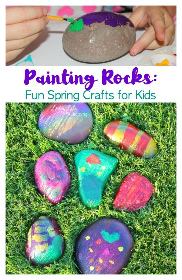 Painting Rocks: Fun Crafts for Kids