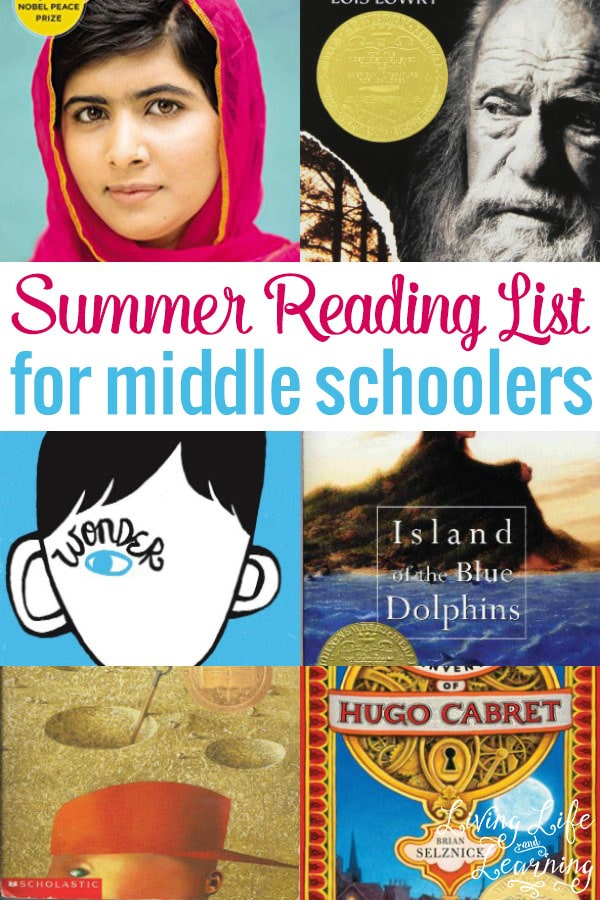 This Summer Reading List for Middle Schoolers is a must-have! The titles are compelling and engaging. Your kids won't be complaining this Summer about reading when they have a list like this one!