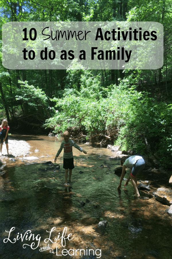 10 Summer Family Activities