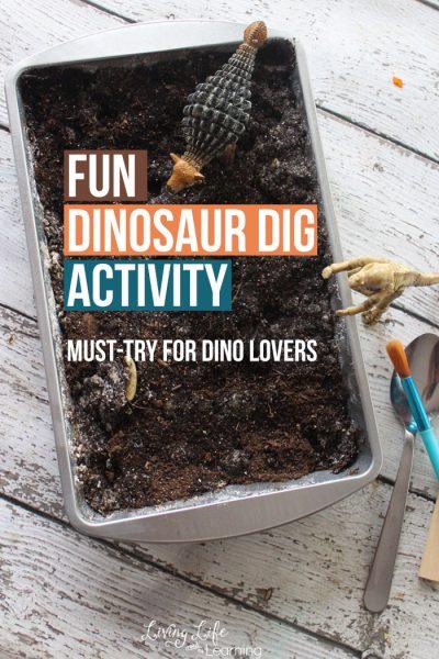 Fun Dinosaur Dig Activity