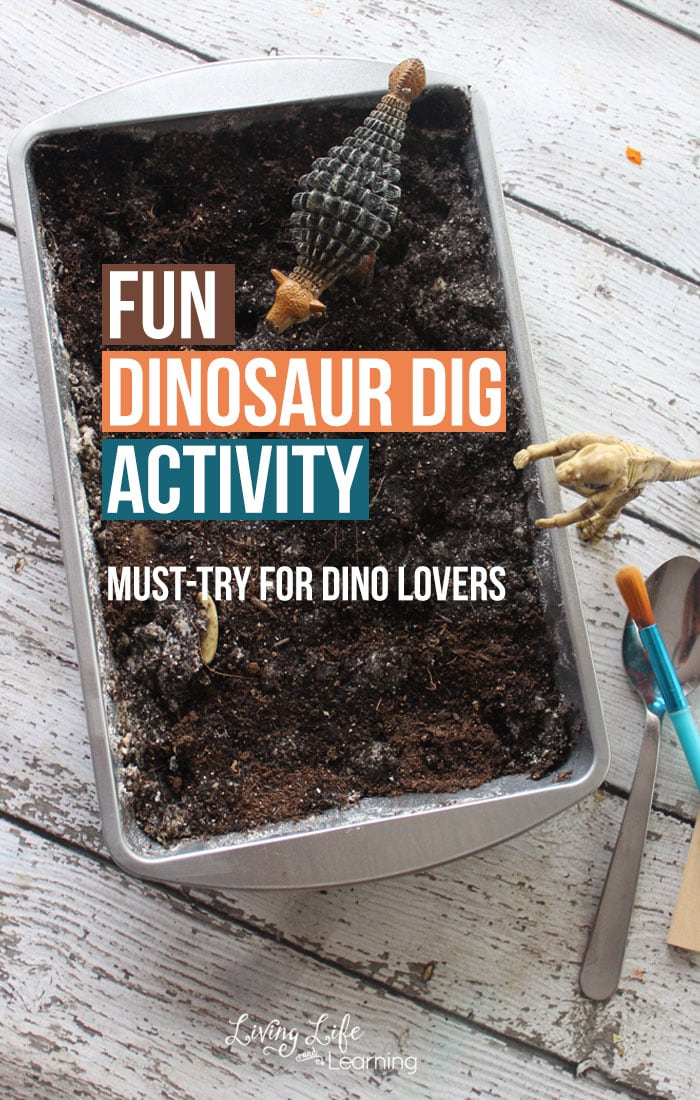 Fun Dinosaur Dig Activity