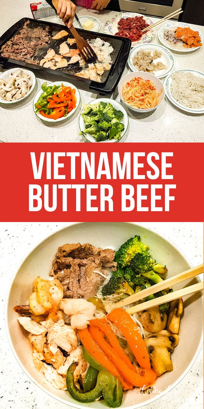 Enjoy this rich and delicious Vietnamese butter beef recipe that is well worth the effort to prepping this meal. It's a huge hit with our whole family.
