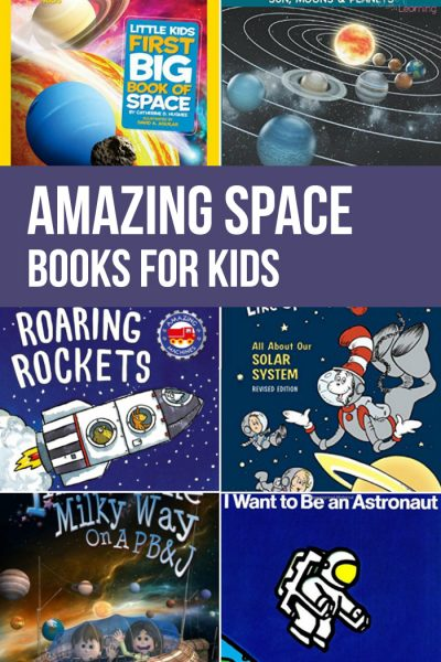 Amazing Space Books for Kids