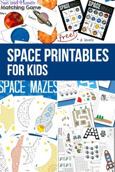 Best Space Printables for Kids