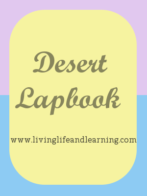 If you're learning about the desert, build your own desert lapbook with these resources to get you started about desert environment and desert animals.