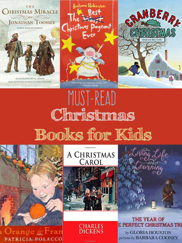 Enjoy Christmas with your kids while you snuggle up with these must read Christmas books for kids -a huge list of picture and chapter books for kids.
