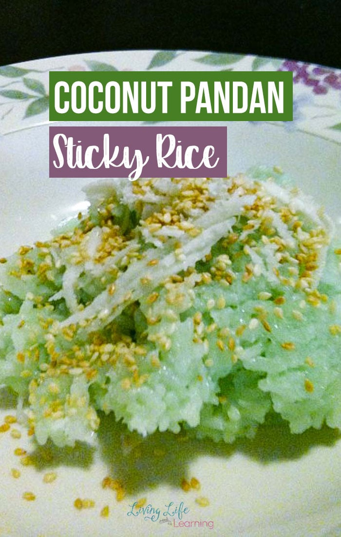 One of our favorite Vietnamese desserts is the Coconut Pandan Sticky Rice Recipe, it's not hard but does take a bit of prep time as you're soaking the rice. It's super easy to put together and the longest part is the cooking time. We love coconut pandan rice since it's not super sweet and feels really light and tasty.