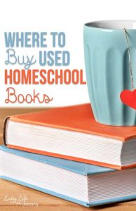Where to buy used homeschool books