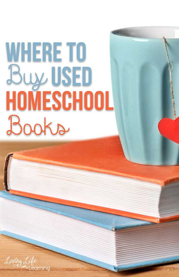 The best places to Buy Used Homeschool Books see where you can find used homeschool curriculum for sale to save a ton of money.
