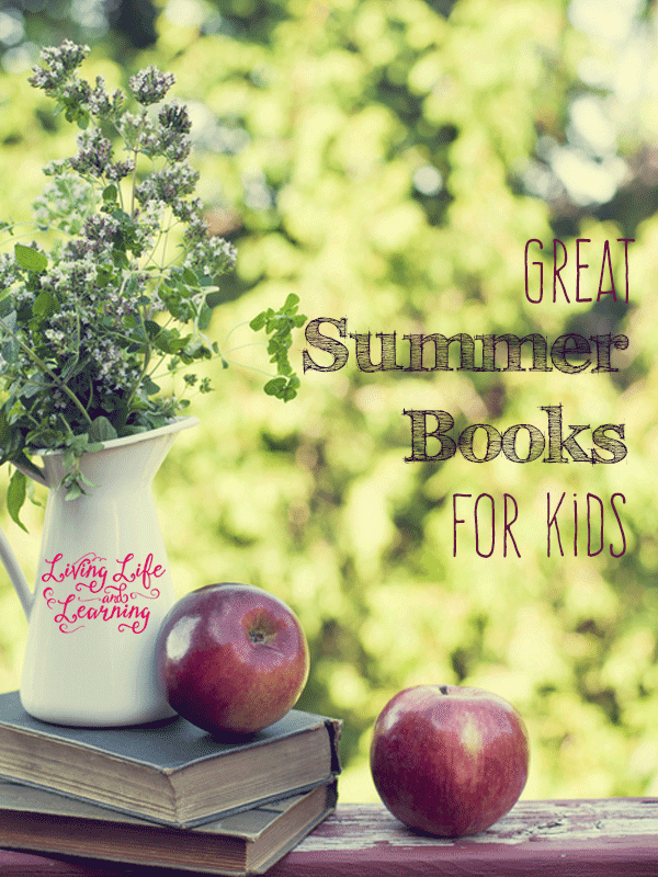 Have fun reading with these great summer books for kids