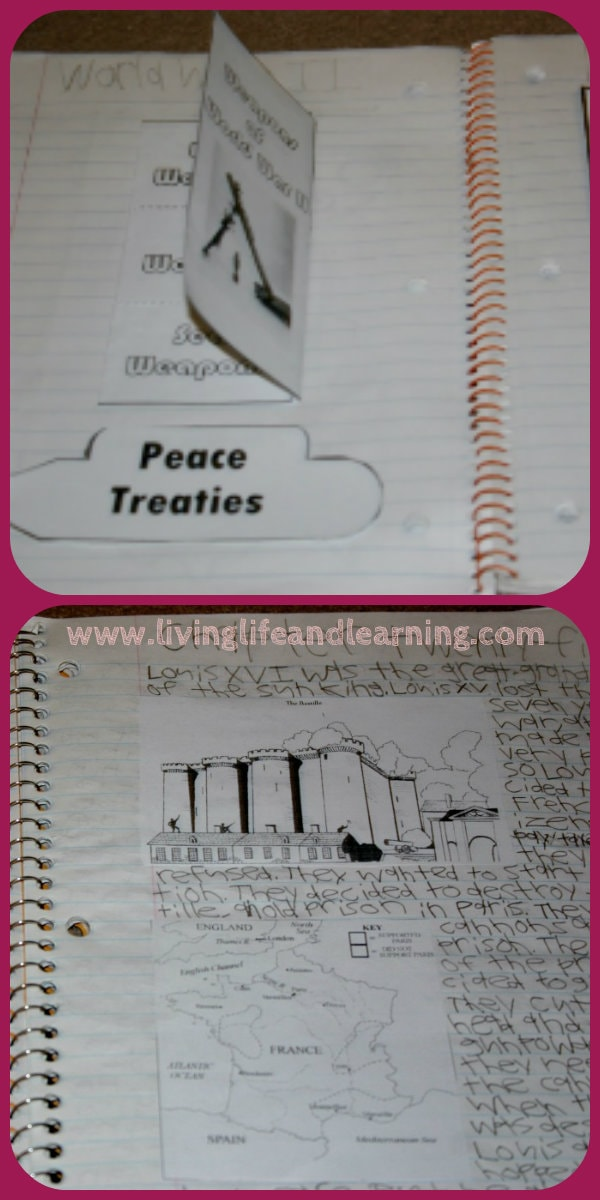 history notebook