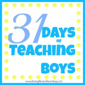 31 days of teaching boys