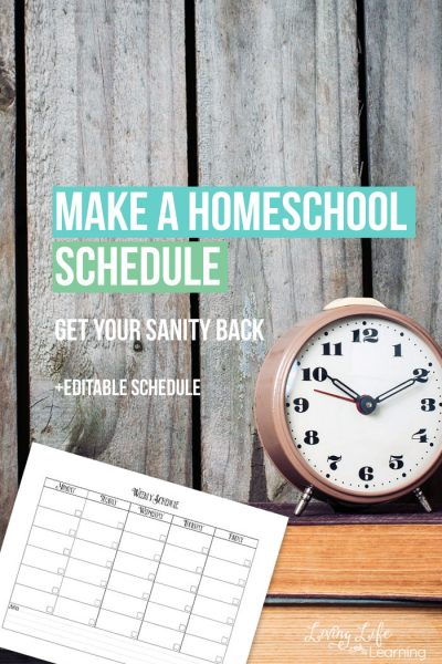 You don't need to plan every minute but your child will work better knowing what lies ahead, get into a homeschool routine and make a homeschool schedule