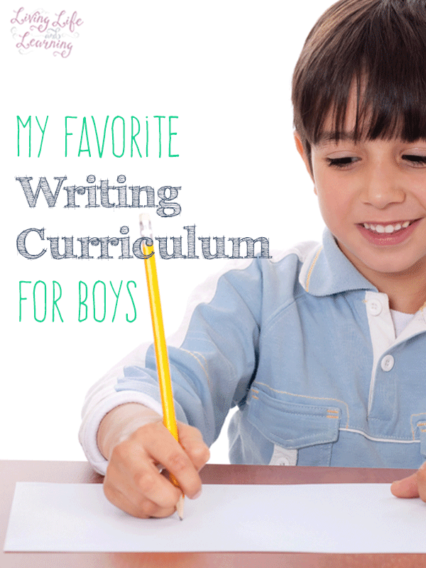 My Favorite Writing Curriculum for Boys