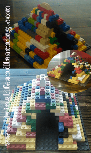 Lego pyramid