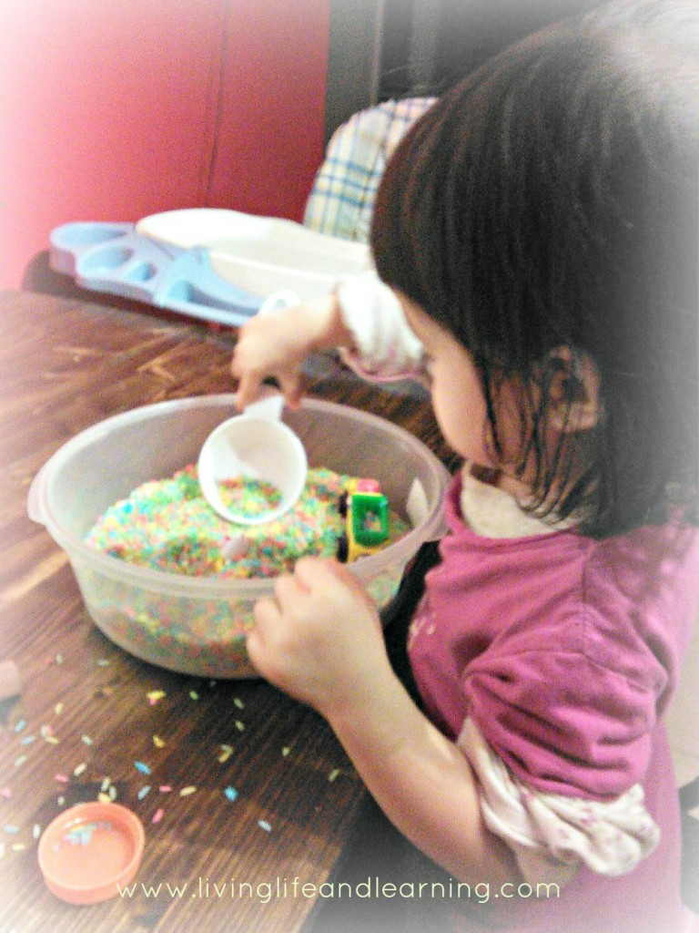 How to Make Colored Rice – Alcohol or Vinegar