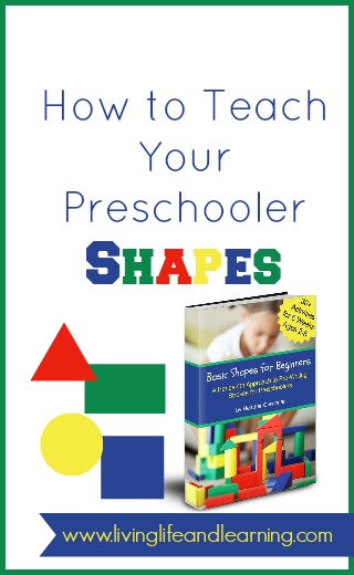 How to Teach Your Preschooler Shapes