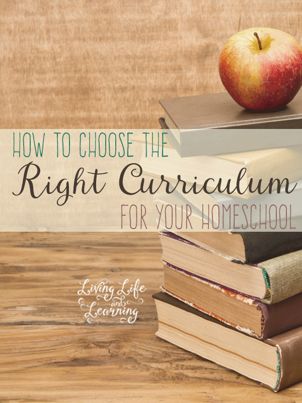 What to you need to consider  and tips for how to choose the right curriculum for your homeschool