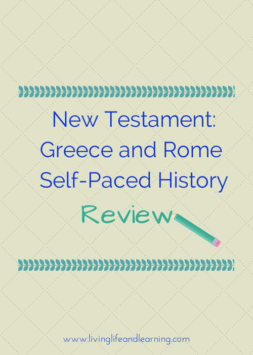 New Testament – Greece and Rome Self-Paced History Review
