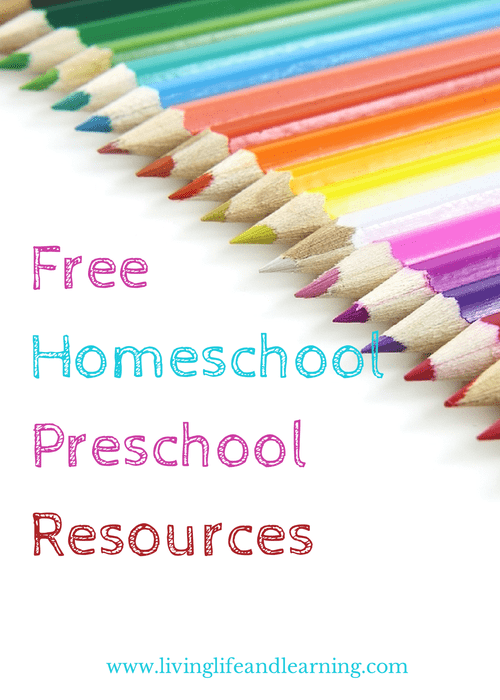 A mega list of Free Homeschool Preschool Resources so that you can use them with  your child to teach preschool for free or almost free.