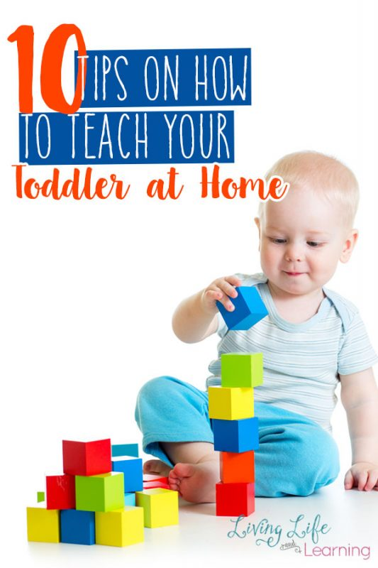 Who says you can't be their teacher too? Start teaching your toddler at home rather than relying on a preschool