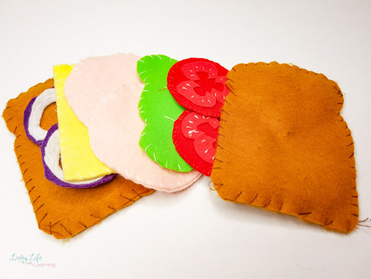 felt sandwich craft
