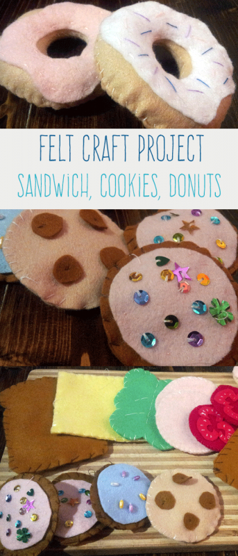 Make your own food out of felt