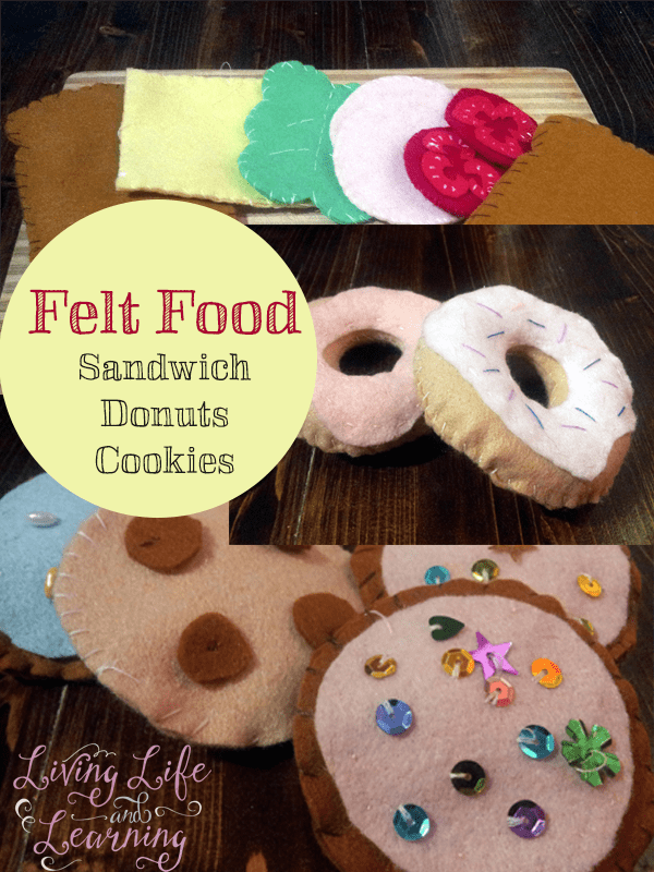 Make your own felt food for hours of pretend play #jhomeschool