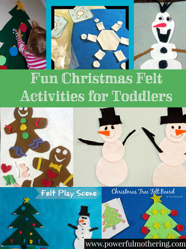 Guest Post on Powerful Mothering – Fun Christmas Felt Activities for Toddlers