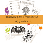 If you've been searching for a Halloween printable pack that your kindergarten to 2nd-grade child can use, this is the one for you! Creative, fun and educational!